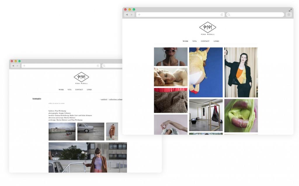 BüroBayer – Grafikdesign, Webdesign, Corporate Design aus Dortmund - Büro für Gestaltung Pina Mirall Fashion