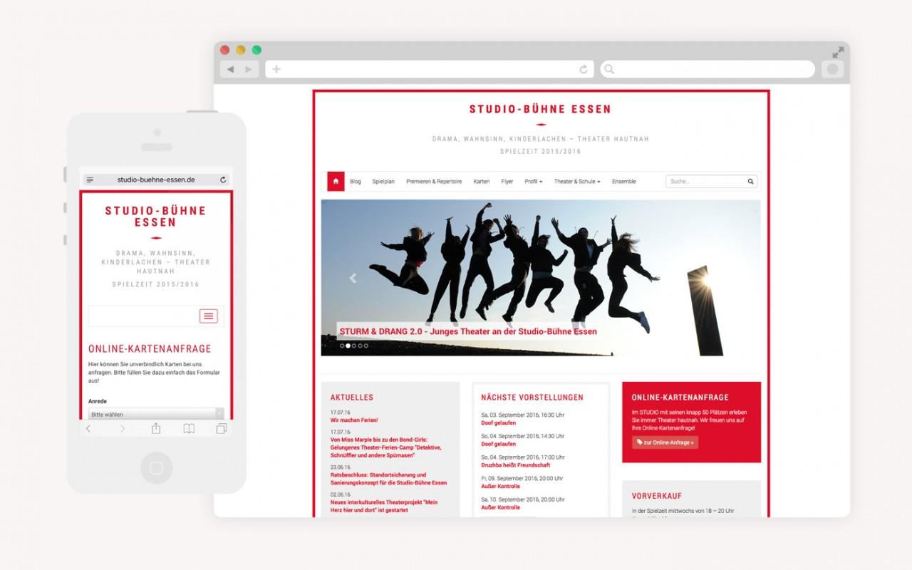BüroBayer – Grafikdesign, Webdesign, Corporate Design aus Dortmund - Büro für Gestaltung Studio Bühne Essen