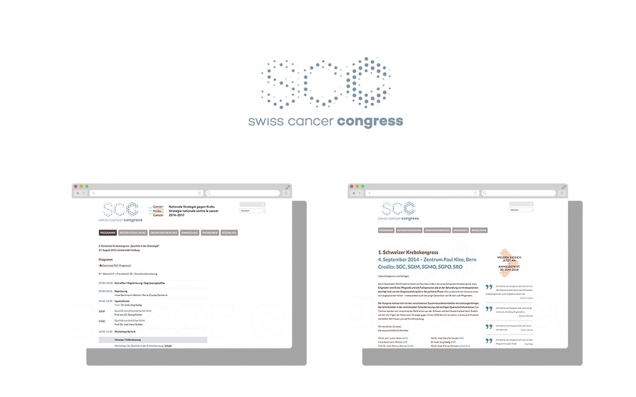 bürobayer Swiss Cancer Congress