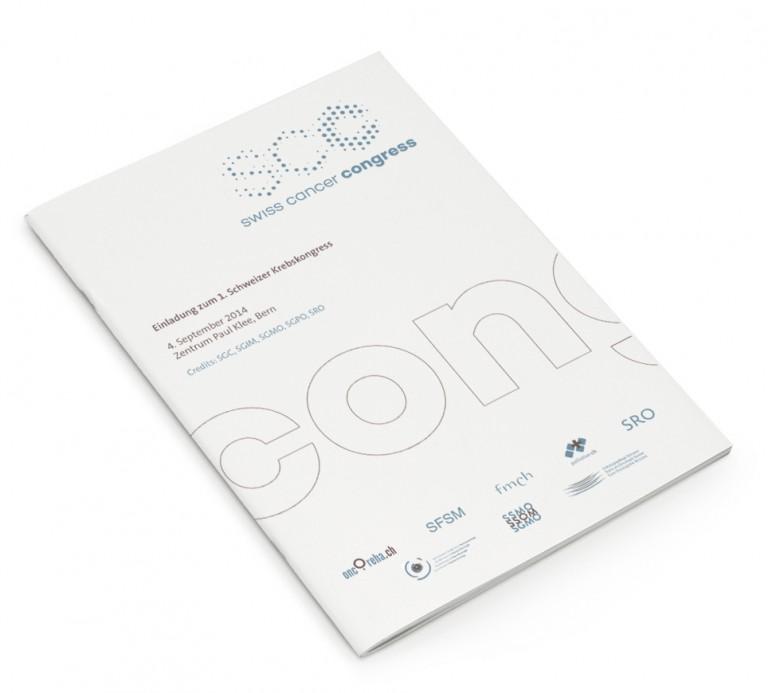 BüroBayer – Grafikdesign, Webdesign, Corporate Design aus Dortmund - Büro für Gestaltung ⤷ Swiss Cancer Congress