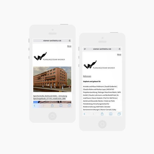BüroBayer – Grafikdesign, Webdesign, Corporate Design aus Dortmund - Büro für Gestaltung ⤷ Planungsteam Wiemer